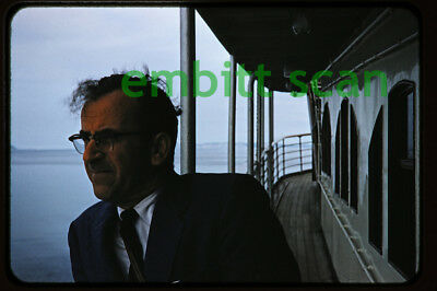 Original Slide, Aboard the Canadian Pacific Liner SS Princess Patricia 1950s, A