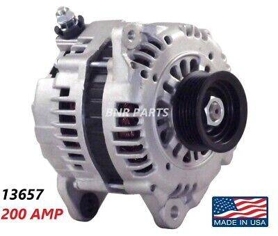 200 Amp 13657 Alternator fits Nissan Maxima Infiniti I30 High Output Performance