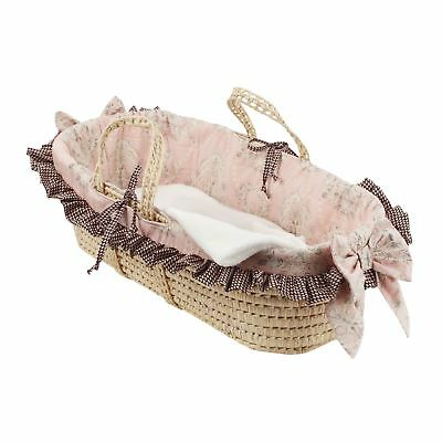 Cotton Tale Nightingale Moses Basket