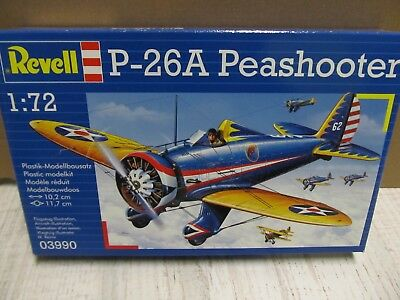 124MB - Revell 03990 - 1:72 - Bausatz P-26 A Peashooter - top in OVP
