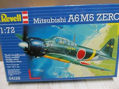 124MB - Revell 04126 - 1:72 - Bausatz Mitsubishi A6 M5 Zero - top in OVP
