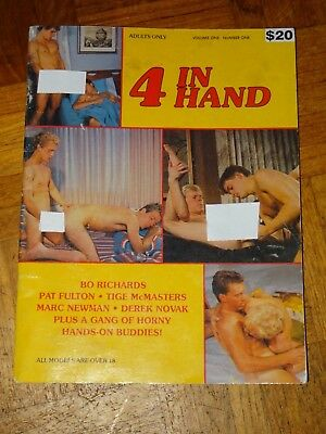 Gay Interest Vintage Magazine: 4 In Hand No 1 No publication details 40 pages