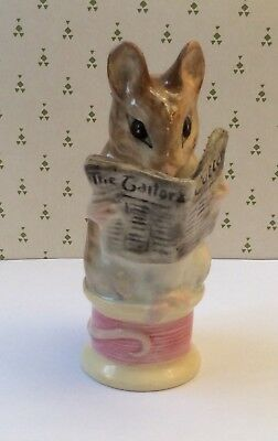 Beswick Beatrix Potter Tailor of Gloucester figure with Gold backstamp.