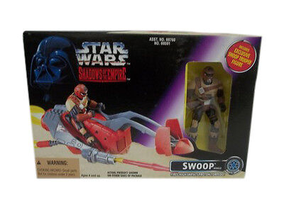Star Wars Swoop vehicle 1996 Shadows of the Empire - Non Mint 4 Inch Figure