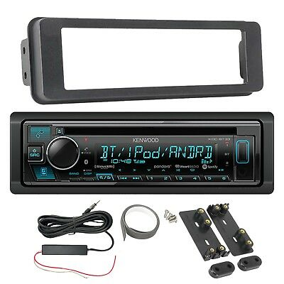 Kenwood Bluetooth Receiver, Dash Kit, Amplified Signal Reception Booster Kit