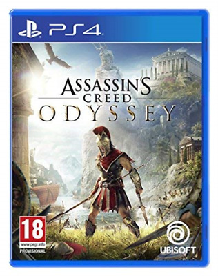 Assassin`s Creed Odyssey PS4 Game GAME NEW
