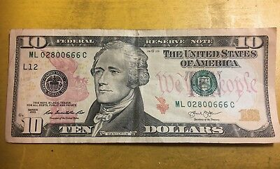 1 DIGIT Near-Miss COMPLETE REPEATER 1$ Rare Dollar Bill 2013 Series