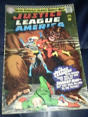 Justice League of America #45 (VG+) June 1966 Silver Age