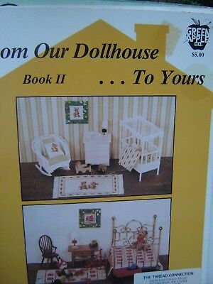 FROM OUR DOLLHOUSE TO YOURS  Miniature Doll House Book Book II BK 512