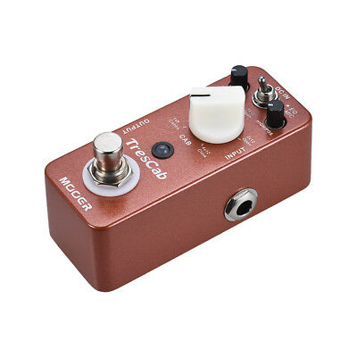 MOOER TresCab Cabinet Simulated Simulator Guitar Effect Pedal True Bypass E6K9