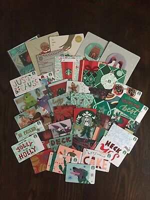 STARBUCKS CANADA SERIES '2018 HOLIDAY CARD SET (49 count)' - BRAND NEW SET