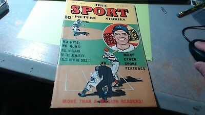 TRUE SPORT PICTURE STORIES Vol. 4 #9 VG condition a 1948 Golden Age comic