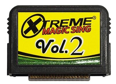 """MAGIC SING Chip """"Xtreme Collection v.2"""" Song Chip w/ SONG LIST"""