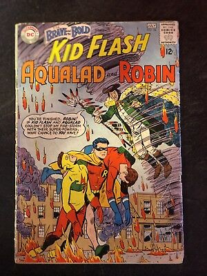 Brave and the Bold 54 1st appearance of the Teen Titans. New Show! *Hot Book*
