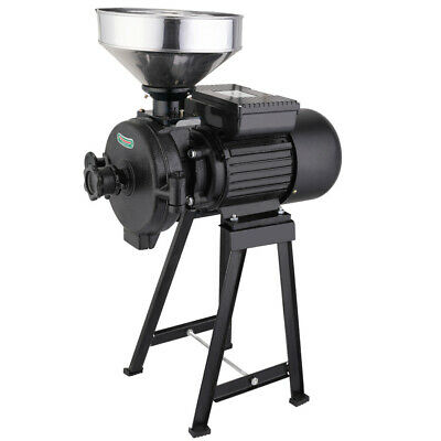 2.2KW Wet Dry Electric Mill Grinder Machine Poultry Animal Feed Cereals Grinder