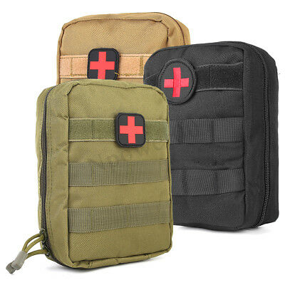 Nylon Tactical Military Molle Bag Medical First Aid Utility EMT Pouch