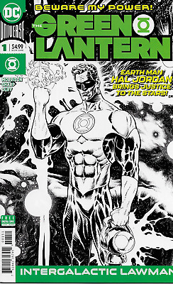 Green Lantern Comic Issue 1 Limited Midnight Release Variant Modern Age 2018 DC
