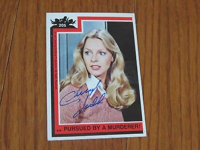 Cheryl Ladd Autographed Charlie's Angels Card Hand Signed