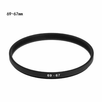 69-67mm 69mm to 67mm Metal Step Down Filter Ring Stepping Adapter Camera Adaptor