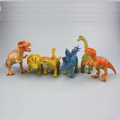Small Dinosaur Figures Plastic Model Jurassic World Collectibles Toys Gift