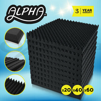 20x 40x 60x Studio Acoustic Foam Sound Absorption Panel Treatment 50x50 30X30CM