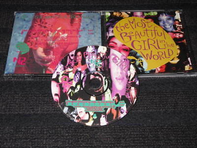 PRINCE The Most Beautiful Girl In The World US Single CD MINT CONDITION NPG