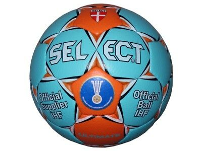 Select Ultimate Handball Gr.2 (Damen Jugend) IHF Approved Wettspiel-Ball türkis