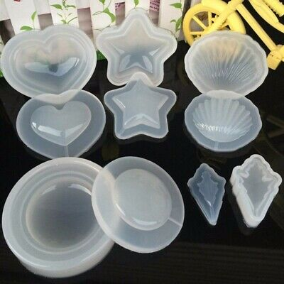 DIY Silicone Mold Pendant Jewelry Making Resin Casting Mould Craft Handmade