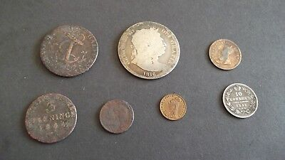 INTERESTING JOB LOT OF OLD COINS  99p 39B-3