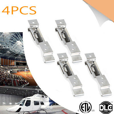 4X Trailer Number Plate Clips / Holder Spring Loaded Stainless Steel PAIR TR112