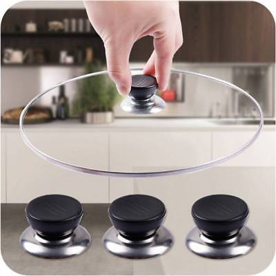 UK Kitchen Cookware Pot Saucepan Replacement Pan Lid Hand Grip Knob Handle Cover