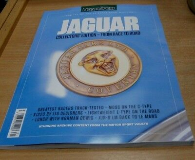 Motor Sport magazine presents Jaguar Collectorss Edition - from race to road