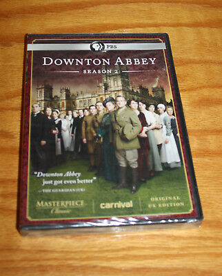 Downton Abbey Season 2   3 DVD Disc Set   New Sealed