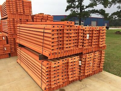 Unarco T-Bolt Uprights ($30 each) and Beams ($10 each) Warehouse Pallet Rack