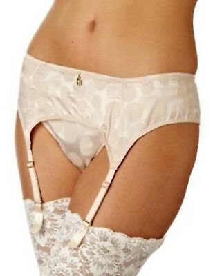 New Gossard Suspender Belt Champagne  SMALL (Style Number 7772)