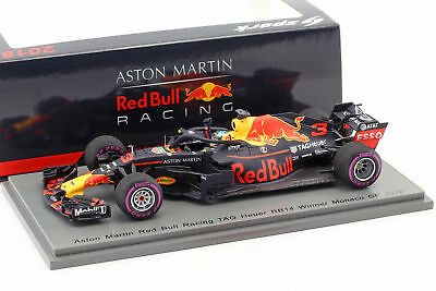 Daniel Ricciardo Red Bull Racing RB14 #3 Winner Monaco GP Formel 1 2018 250th Ra