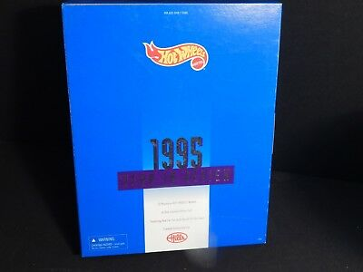 Vintage 1995 Hot Wheels Year in Review Hills Exclusive Boxed Set