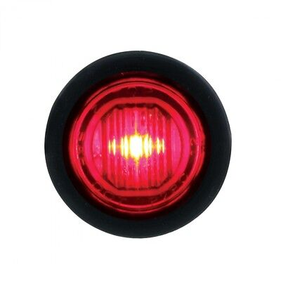 1 Smd Led Mini Clearance/marker Light Competition Series - Red Led/red Lens