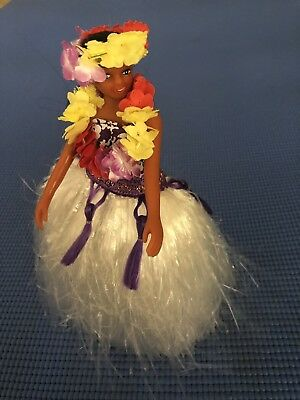 NIB Vintage Dancing Hula Girl Doll with Music  Battery Operated Made in Hawaii