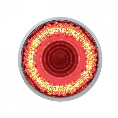 """9 Led """" Clearance/Marker """"Mirage"""" Light - Red Led/Clear Lens"""