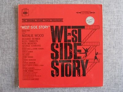 Leonard Bernstein West Side Story OST Natalie Wood CBS Records