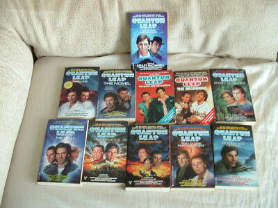 Collection Of 11 Quantum Leap Books