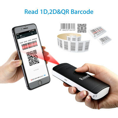 Eyoyo EY-002S Barcode-Leser BLUETOOTH Portable 9h Work für Iphone Smartphone