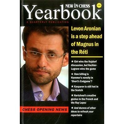 New in Chess Yearbook 120 Hardcover: Chess Opening News - Hardcover NEW Jan Timm