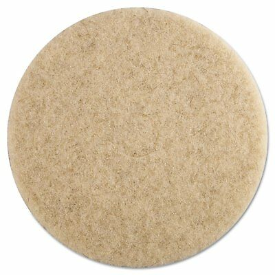 Boardwalk Ultra High-Speed Floor Pads 19-Inch Diameter Natural Hair Champagne