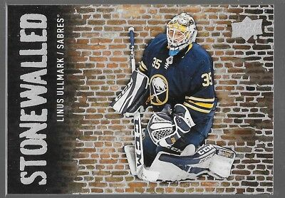 18/19 Upper Deck Stonewalled 1-50 You Pick From List