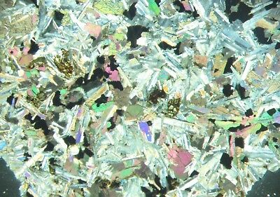 Tranquilityite lunar meteorite mineral Australia THIN SECTION Awesome POLARISING