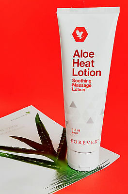 Forever Living Aloe Heat Lotion 118ml ×1 tube NEW SEALED (Expiry Date 2021)