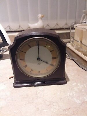 Vintage Art Deco Bakelite Smith's Sectric Clock