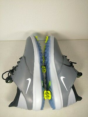 959065942f4f46 Nike Air Zoom Direct Men Size 8.5 Golf Shoes Grey White 923965 002 Spikes  New